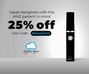 SkyBlue Vapor Deluxe Pen Kit Ad