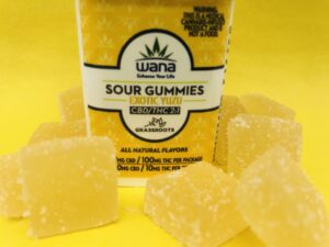 Wana Gummies by Grassroots