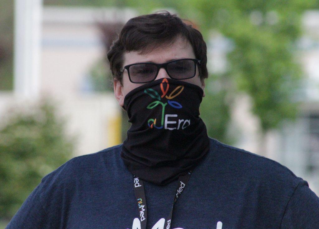 NuMed Bandana face masks