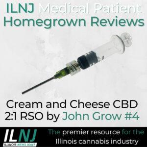 Cream and Cheese CBD 2:1 RSO by John Grown #4