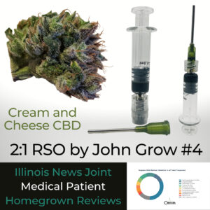Cream and Cheese CBD 2:1 RSO by John Grown #4