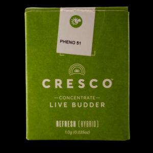 Pheno 51 Live Budder by Cresco