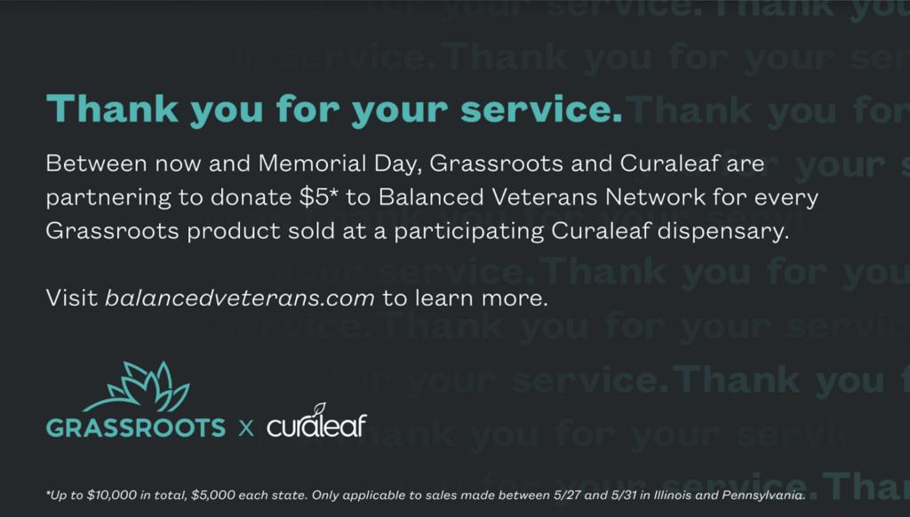 Curaleaf donates
