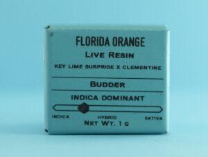 Florida Orange Live Resin Budder