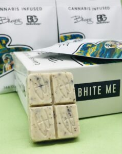 Cookies and Cream White Chocolate by Bhang