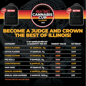 High Times cup prices