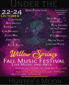 Willow Springs Fall Music Festival